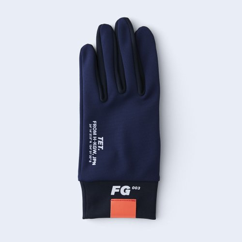 runners gloves MEN navy