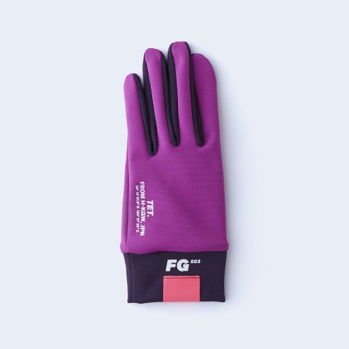 runners gloves WOMEN pink