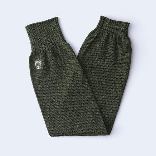 sunny knit rib moss green