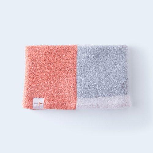 osoroi snood KIDS coral pink