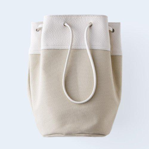 bucket bag ivory