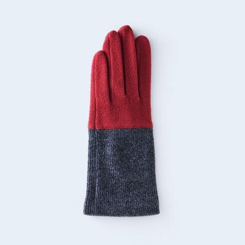 bicolor WOMEN red & gray