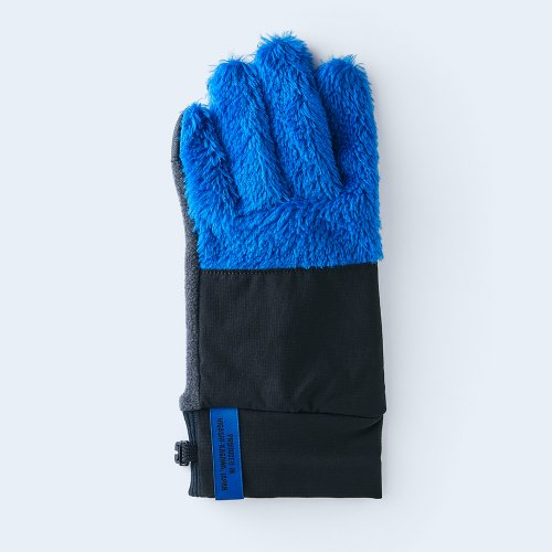 mountain fleece MEN blue & black
