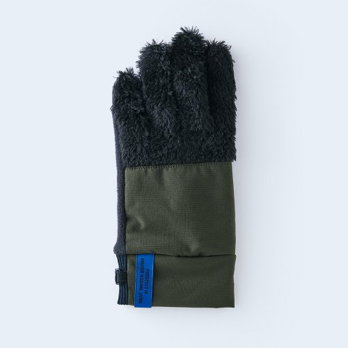 【予約】mountain fleece WOMEN black & khaki