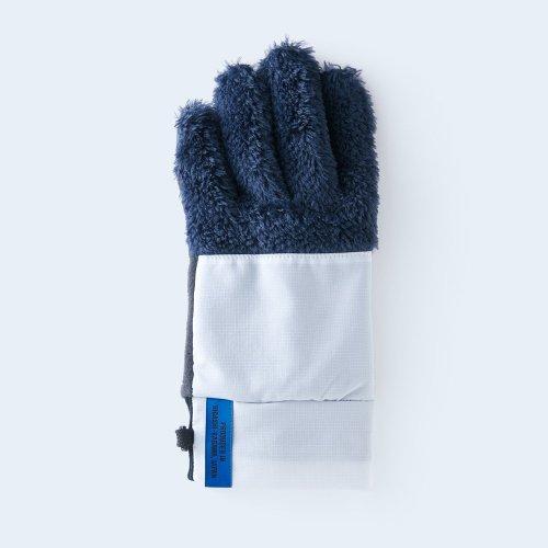 【予約】mountain fleece WOMEN navy & white