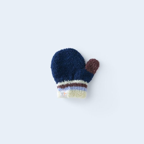 iroiro miton KIDS navy & cream