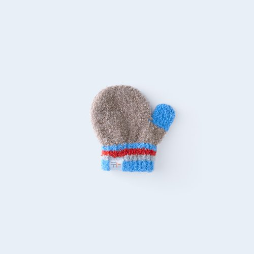 iroiro miton KIDS brown & blue