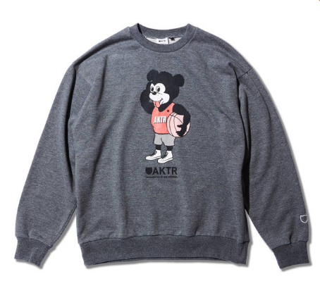 NICK BIG SWEAT GRAY