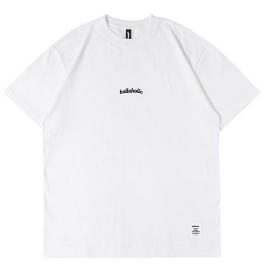 Small LOGO Tee (white/black)