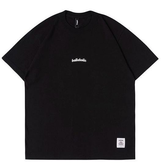 Small LOGO Tee (black/white)