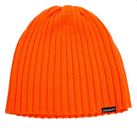 x68 KNIT CAP ORANGE
