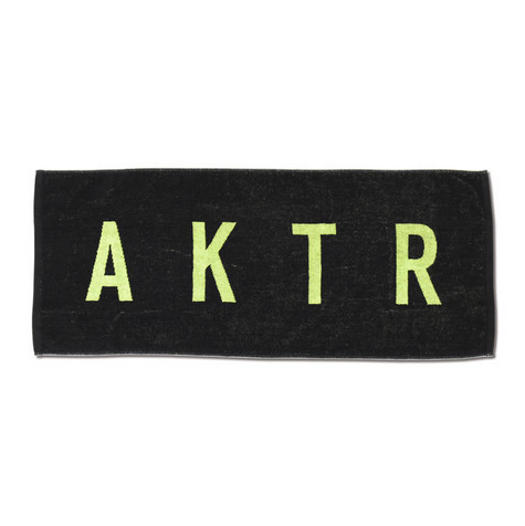 SPORTS TOWEL LOGO BLACKxGREEN