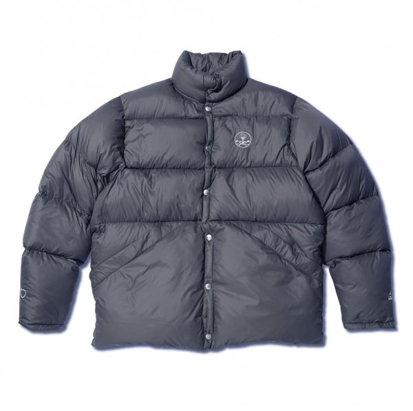 <img class='new_mark_img1' src='https://img.shop-pro.jp/img/new/icons20.gif' style='border:none;display:inline;margin:0px;padding:0px;width:auto;' />x GERRY DOWN JACKET DARK GRAY