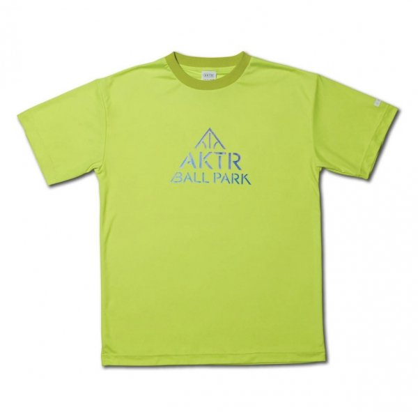 AKTR BALL PARK TEE YELLOW