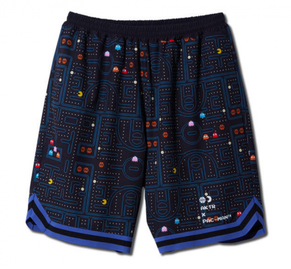 <img class='new_mark_img1' src='https://img.shop-pro.jp/img/new/icons14.gif' style='border:none;display:inline;margin:0px;padding:0px;width:auto;' />xPAC-MAN MAZE SHORTS BLACK