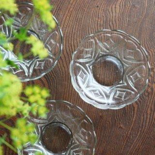 プレスガラス小鉢 ダイア