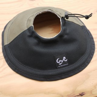 【HALF TRACK PRODUCTS】Lampshade black & olive