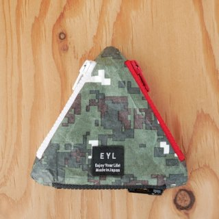 【EYL】Coin Case/Tyvec Digital Camo