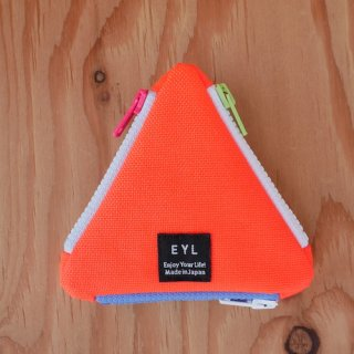 【EYL】Coin Case/Neon Orange