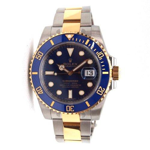 buy popular 0f43f e9f99 ROLEX サブマリーナデイト青 コンビモデル - 輸入ブランド腕時計専門店 森時計店