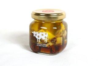 オイル漬けチーズ(トマト)