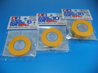 TAMIYA タミヤ マスキングテープ 詰め替え用 各種