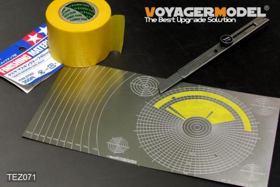 VOYAGERMODEL マスキングテープカッティングジグ3 円形