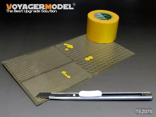 VOYAGERMODEL マスキングテープカッティングジグ5 六角形
