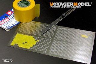 VOYAGERMODEL マスキングテープカッティングジグ2 四角形