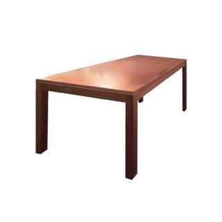 無垢材ダイニングテーブル ウォルナット無垢材 ホワイトオーク 幅180cm モダン MESA Ⅱ(メーサドゥエ)