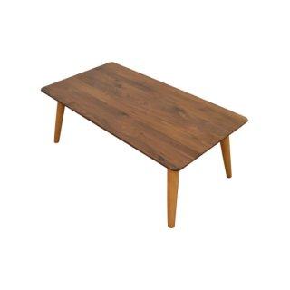 テーブル コーヒーテーブル 幅110cm 収納 ウォルナット無垢材 自然素材 CUDO(クード)