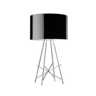 送料無料 テーブルライト ランプ 照明 黒 ロドルフォ・ドルドーニ イタリア 100W E26 FLOS(フロス) Ray T(レイT)(ブラック)