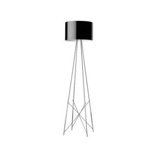 送料無料 フロアライト ランプ 照明 黒 ロドルフォ・ドルドーニ イタリア 150W E26 FLOS(フロス) Ray F2(レイF2)(ブラック)