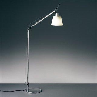 送料無料 フロアライト ランプ 照明 パーチメント紙 60W E26 Artemide(アルテミデ) TOLOMEO BASCULANTE LETTURA(トロメオ バスキュランテ レットゥーラ)