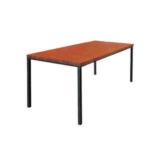 オーク材ダイニングテーブル ダークブラウン 幅180cm 送料無料 GEN�(ゲン トレ)W1800