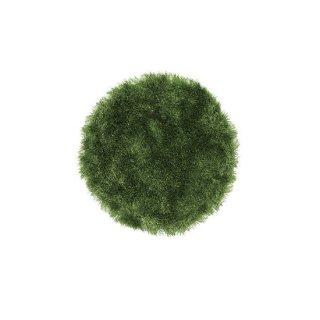 シャギーマット グリーン 緑 直径30cm