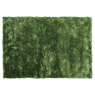 [10/31(木)まで 10%OFF SALE]シャギーラグ マット グリーン 緑 縦130cm 横190cm