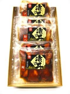 おもてなし 漬け丼・3兄弟          (3,100円➽3,000円)⇒送料半額
