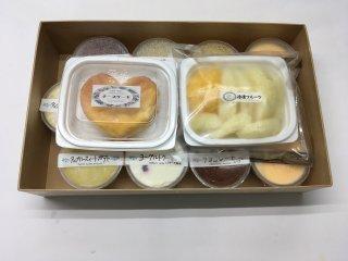 冷菓の詰合せ (7種類⇒14個)              (2,550円➽2,500円)