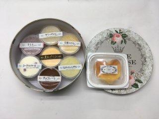 冷菓の詰合せ (6種類⇒8個)      (1,480円➽1,450円)