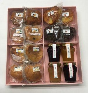 焼菓子と冷菓の詰合せ (9種類⇒18個)      (3,700円➽3,600円)⇒送料半額