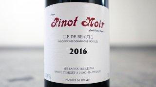 [1270] Ile de Beaute Pinot Noir Vieilles Vignes 2016 Raoul Clerget / イル・ド・ボーテ・ピノ・ノワール 2016ラウル・クレルジェ