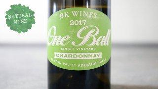 [3000] One Ball Chardonnay 2017 BK Wines / ワンボール・シャルドネ 2017  BKワインズ