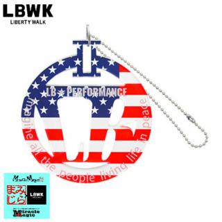 LBパーキングプレート 星条旗