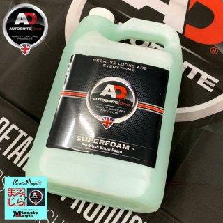 スーパーフォーム 4L 大容量 Autobrite Direct スノーフォーム カーシャンプー タッチレス 洗車 メンテナンス 英国製