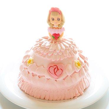 立体プリンセス/ドールケーキ