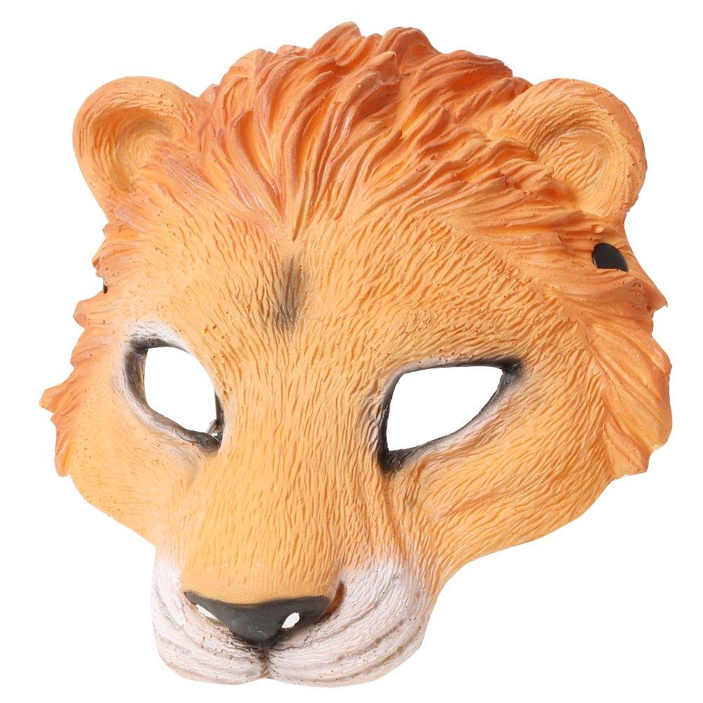 ワイルドマスク ライオン 被り物 |カラー:ライオン