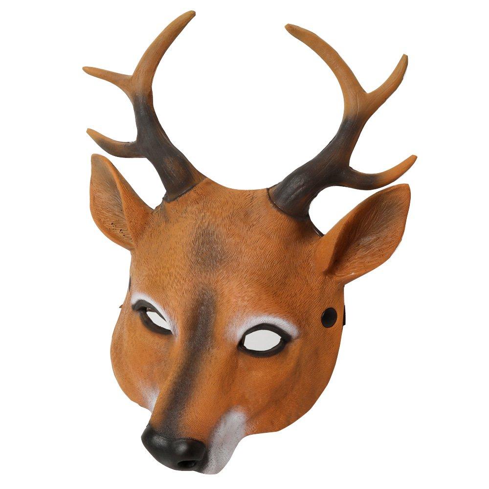 ワイルドマスク 鹿 被り物 |カラー:鹿
