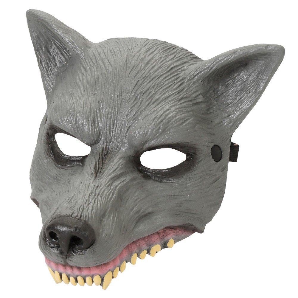 ワイルドマスク 狼 男女兼用 衣装|カラー:狼