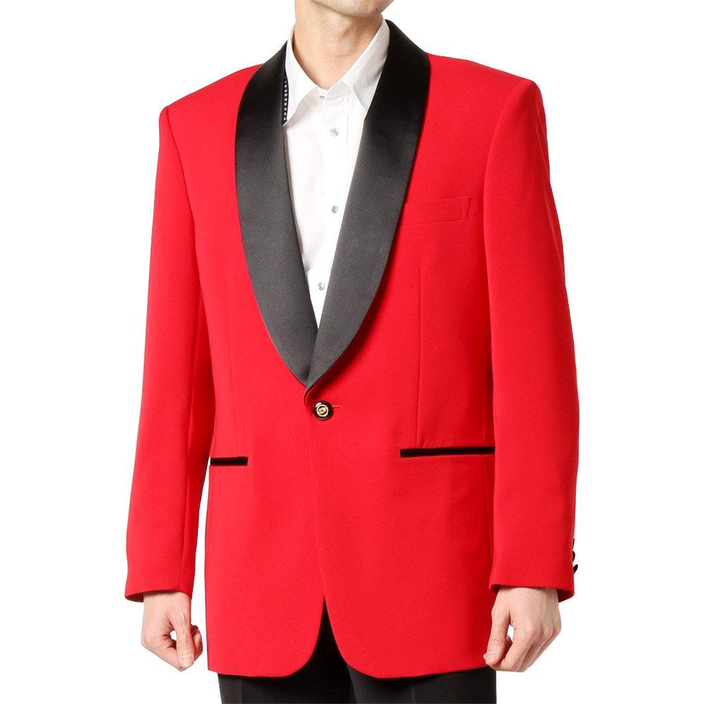 【新色】タキシードジャケット 男女兼用 衣装|カラー:レッド